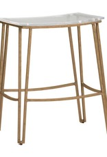 Website Pierce Counter Stool - Gold
