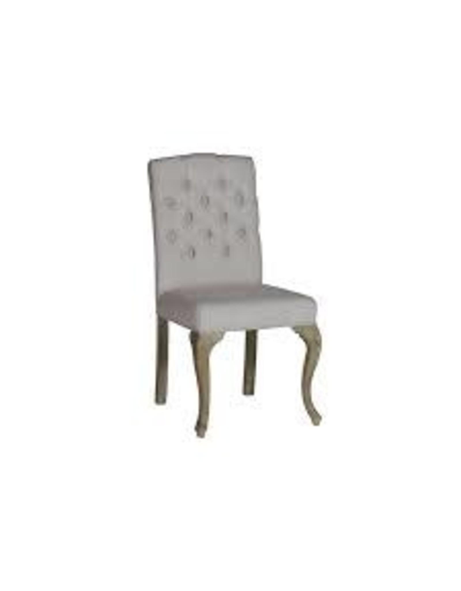 Website Avignon Chair - Buff Linen & Oak