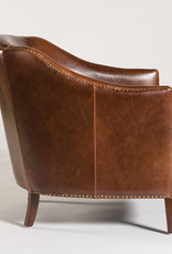 Website Madison Occasional Chair in Antique Saddle