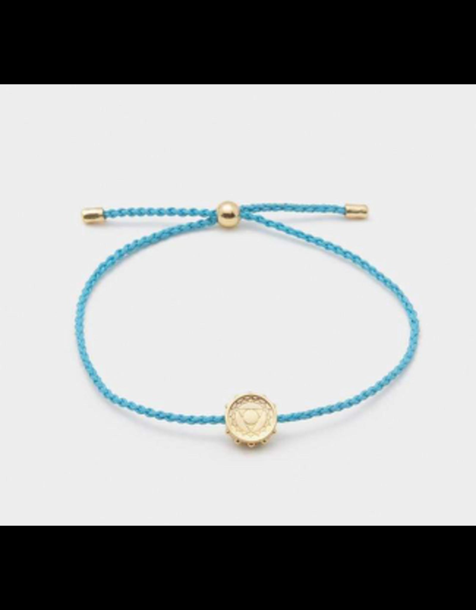 Throat Chakra Coin Bracelet