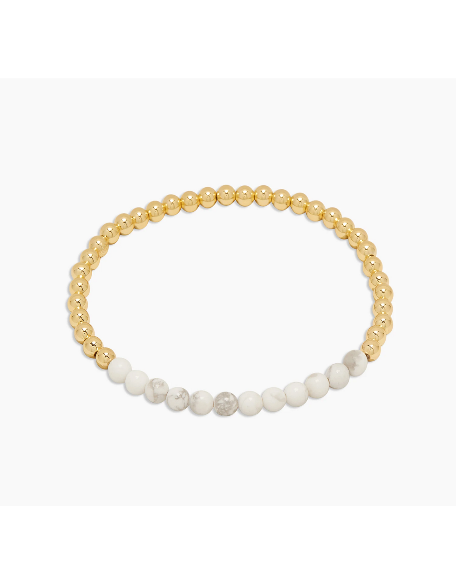 Power Gemstone Aura Bracelet for Calm