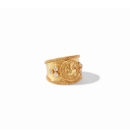 Coin Crest Ring  Gold / 7