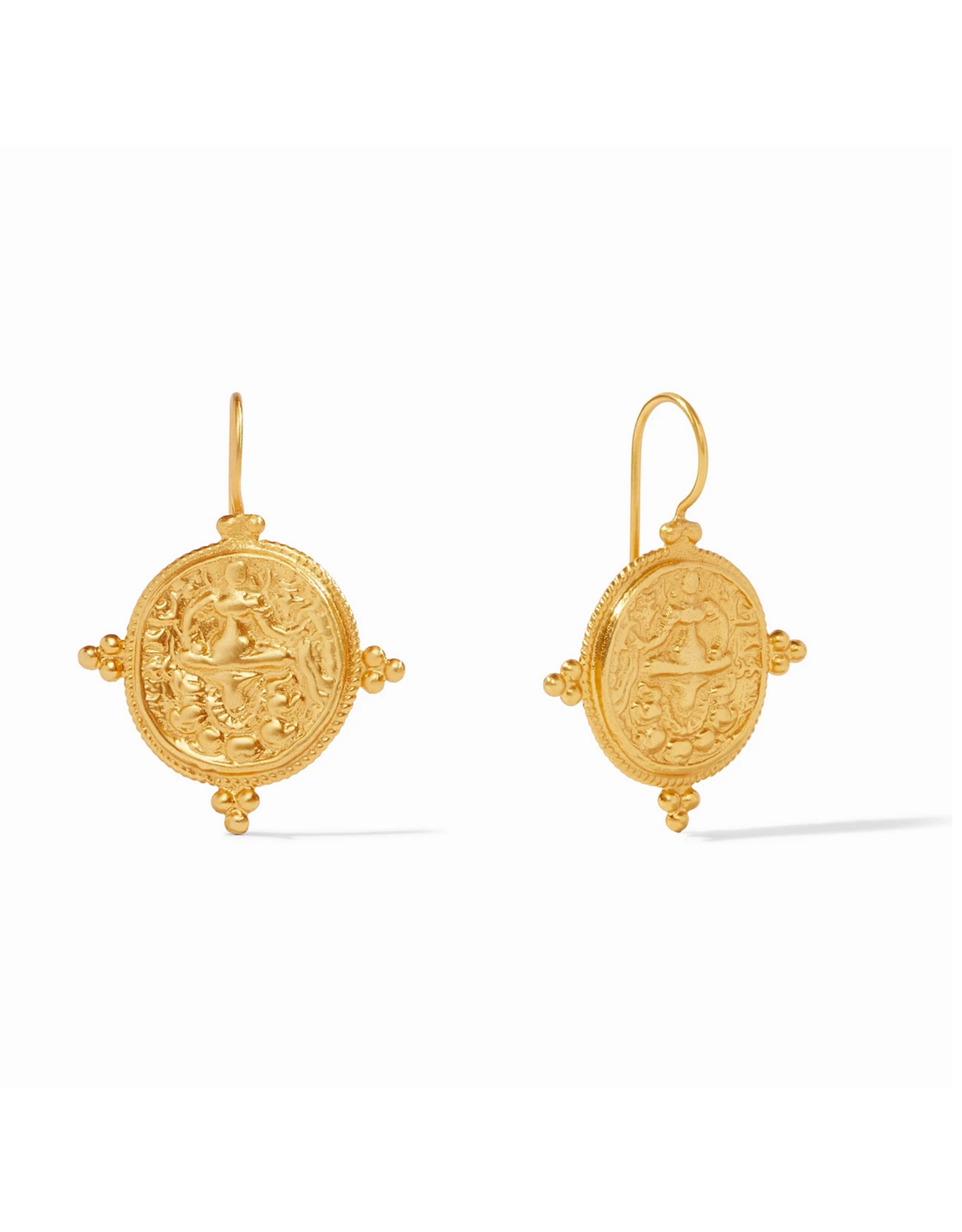 Website Quatro Coin Earring