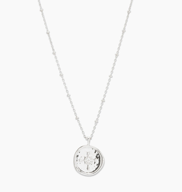 Website Compass Coin Necklace