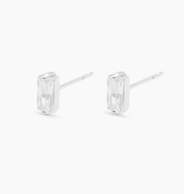Website Amara Solitaire Studs in Silver