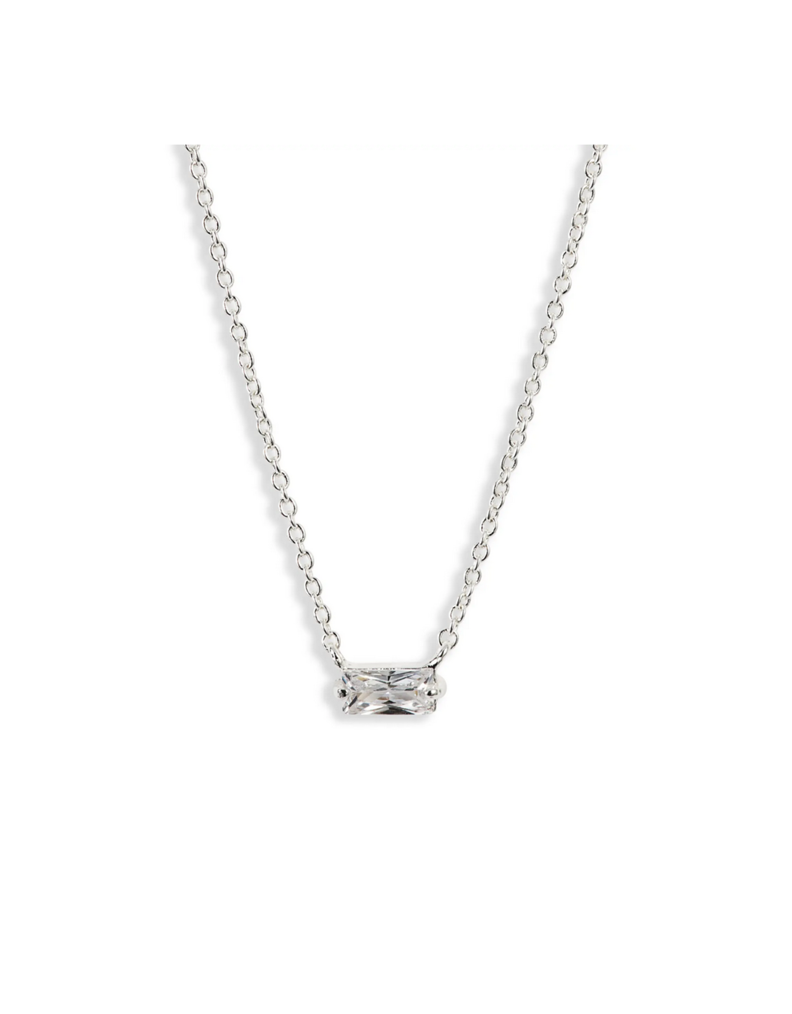 Amara Solitaire Necklace