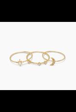 Luna Ring Set- Size 6