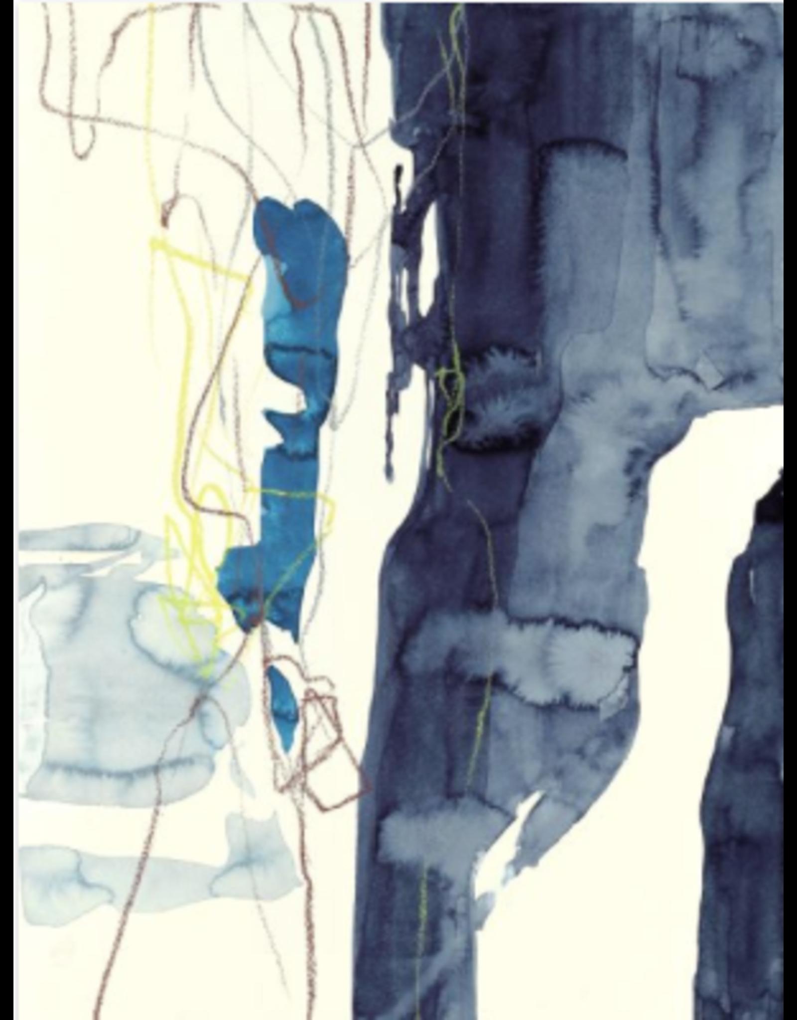 Navy Waterfall II (36x48)