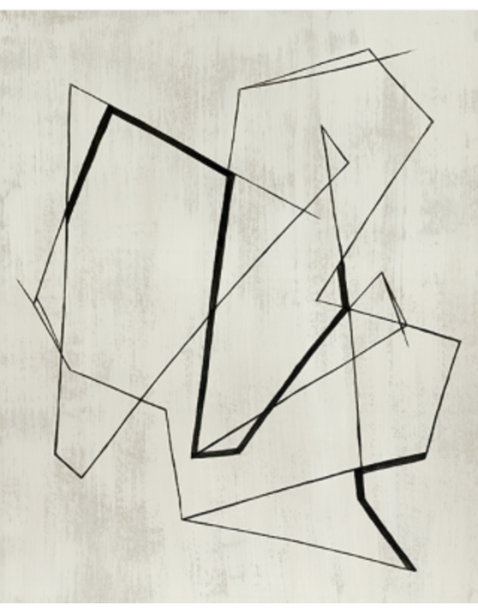 Lines and Time I (36x45)