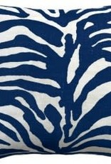 Website Serengeti Navy Pillow 22""