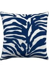 "Website Serengeti Navy Pillow 22"""