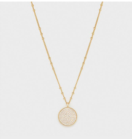 Website Pristine Coin Necklace - gold