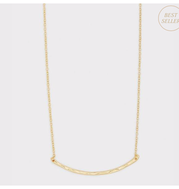 Website Taner Bar Small Necklace - gold