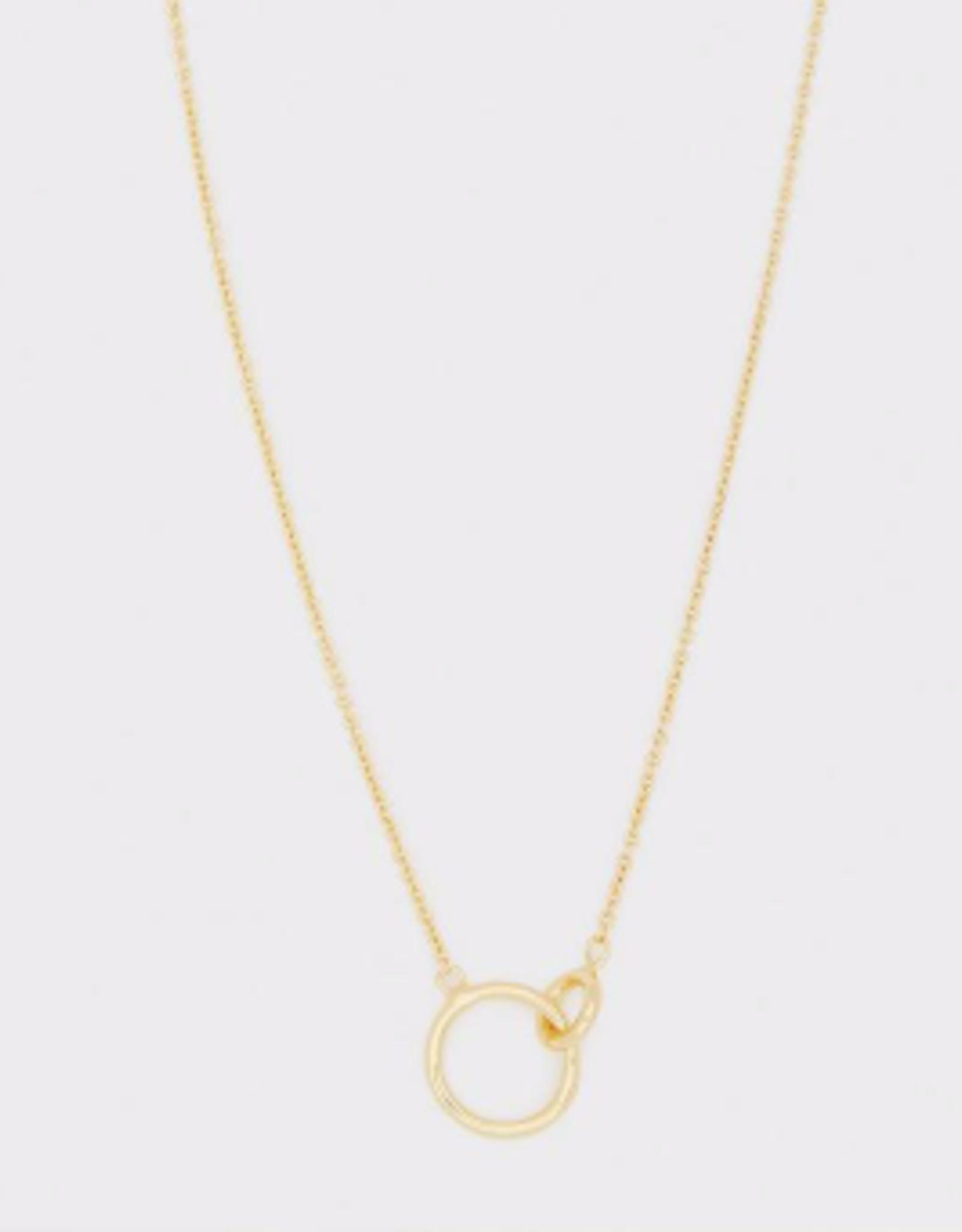 Website Wilshire Charm Adjustable Necklace - gold