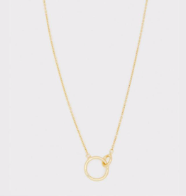 Website Wilshire Charm Adjustable Necklace - gold