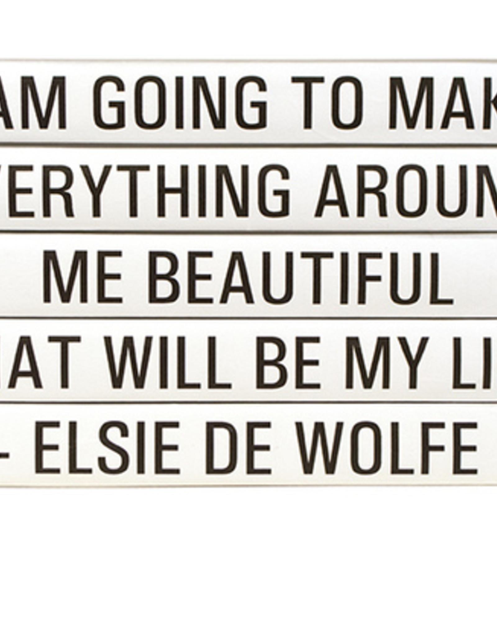 """Website Elsie De Wolfe """"I am going to make..."""""""