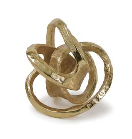 Metal Knot - Gold