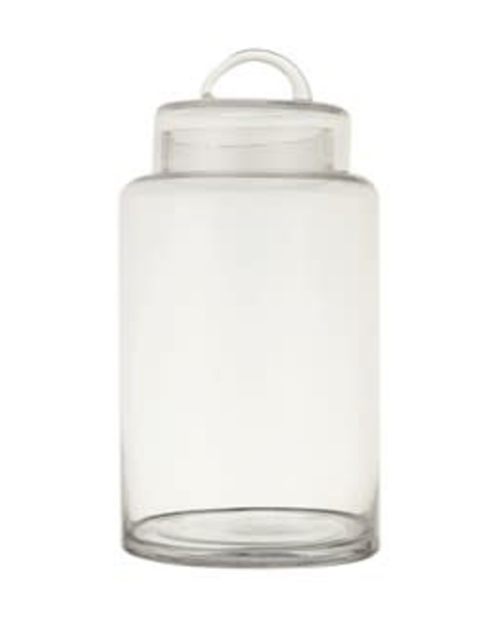 Website Glass Container with Lid