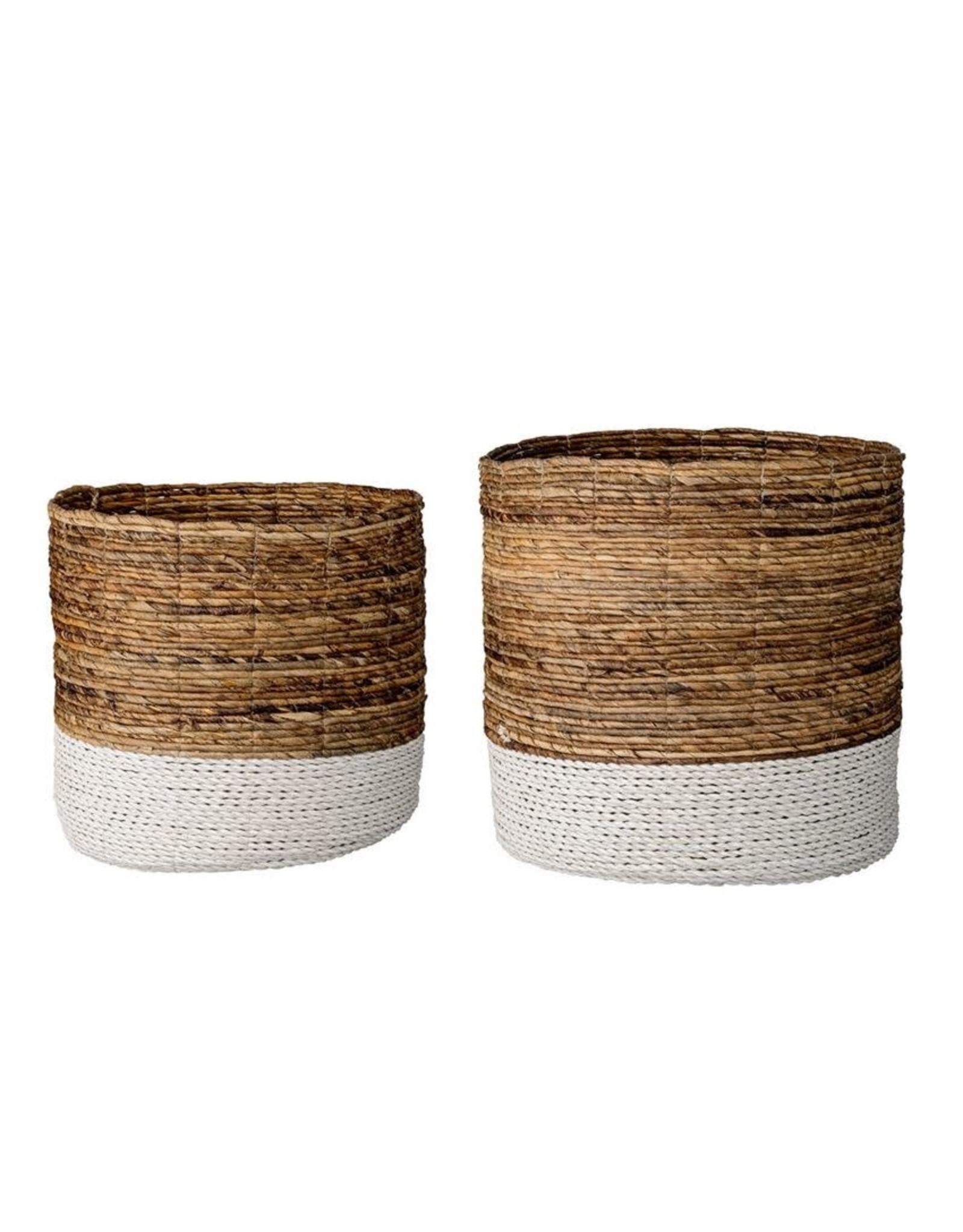 Website Natural Raffia & Banana Leaf Baskets