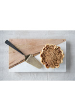 Website Marble & Mango Wood Board with Brass Feet
