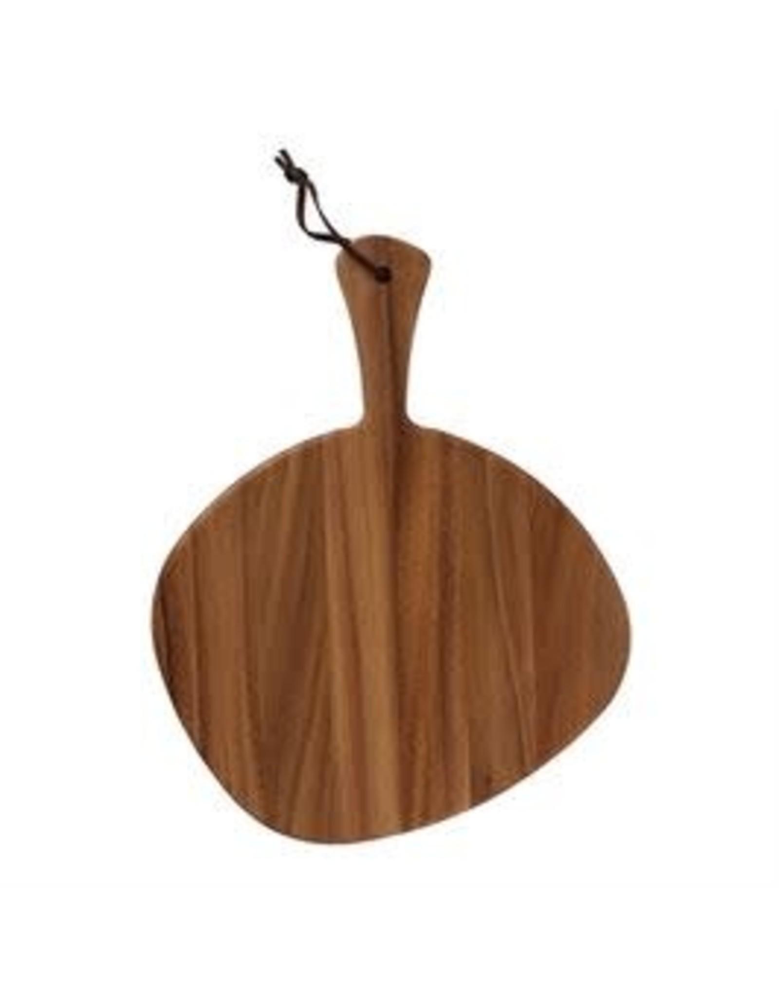 Website Acacia Wood Tray/Cutting Board w/ Leather Tie
