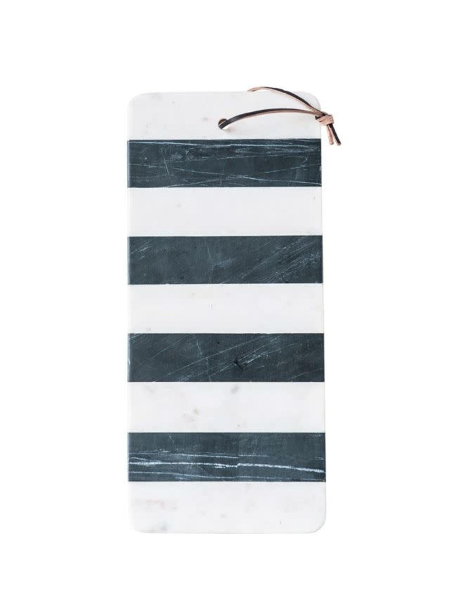 Website Marble Board w/ Leather Tie