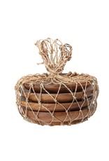 Website Acacia Wood Tapas Plates in Bag, Set of 4