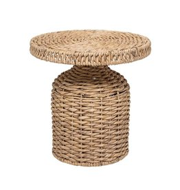 Website Woven Natural Water Hyacinth Table