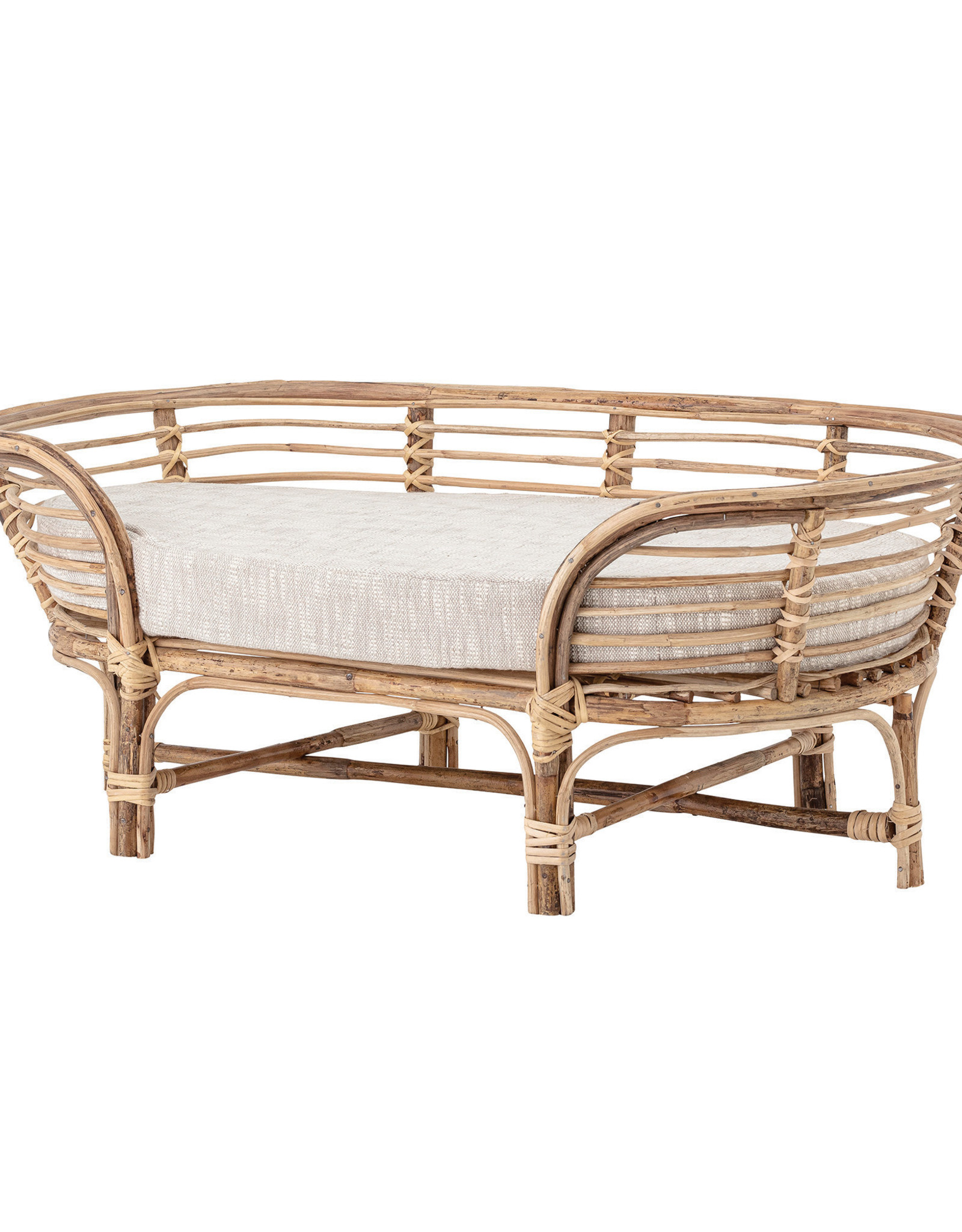 Website Rattan Dog Bed