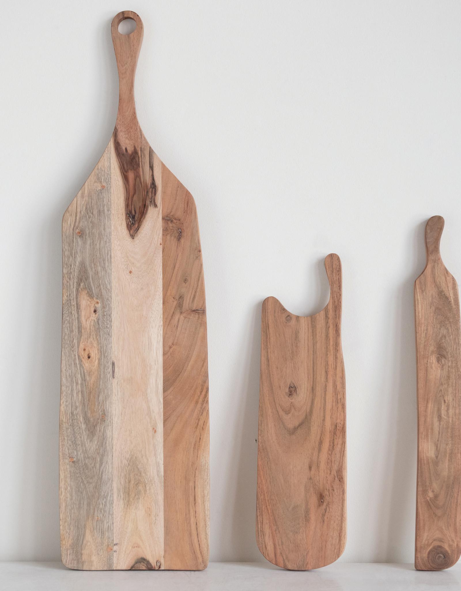 Website Acacia Wood Board with Handle