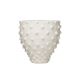 Website Terra-Cotta Planter with Raised Dots