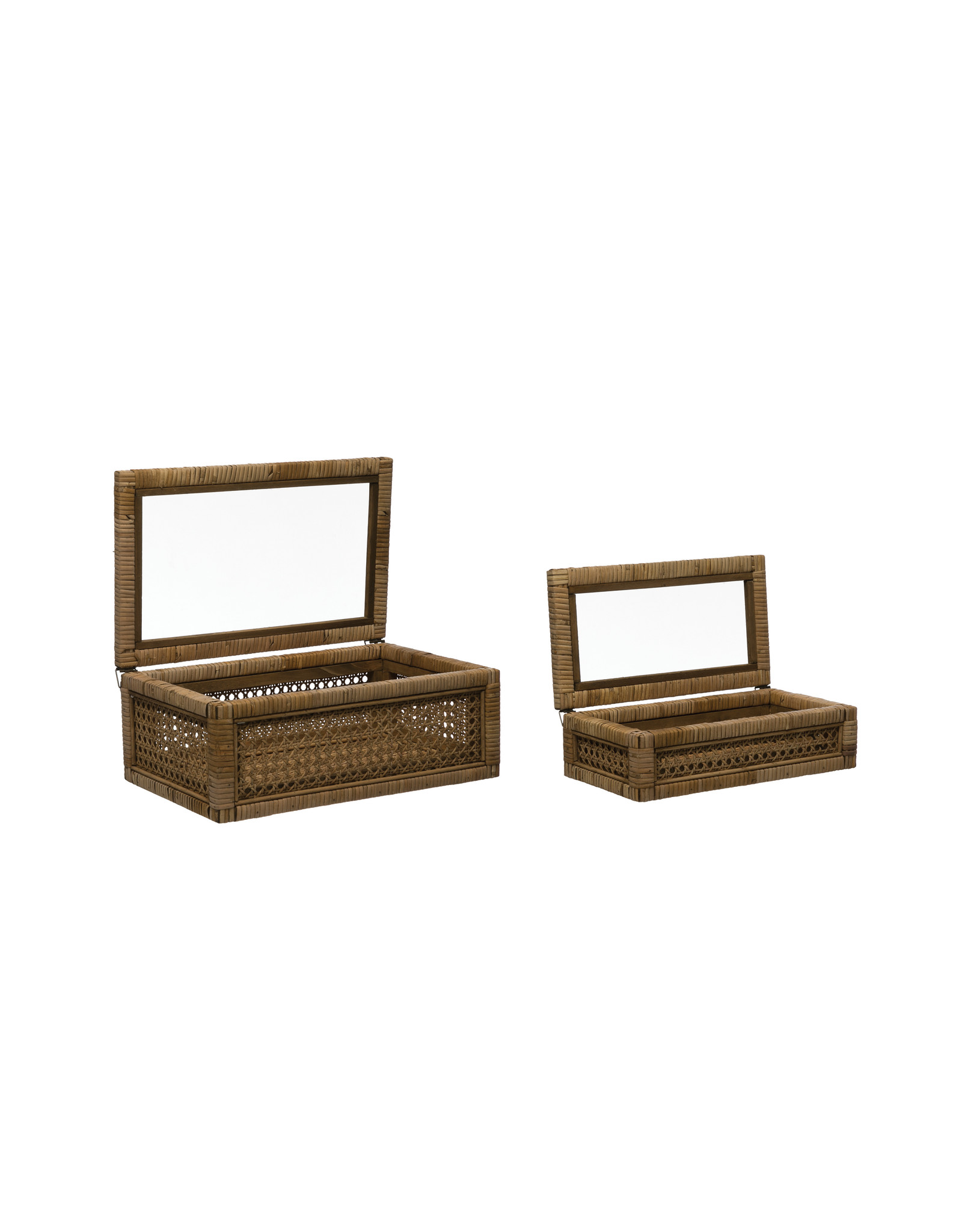 Website Woven Rattan Display Boxes