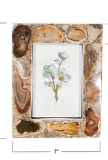 Website 4 x 6 Brown Agate Photo Frame