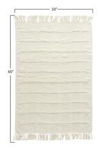 Website Cotton Blend Chenille Throw