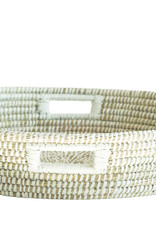 Website Hand-Woven Basket with Handles