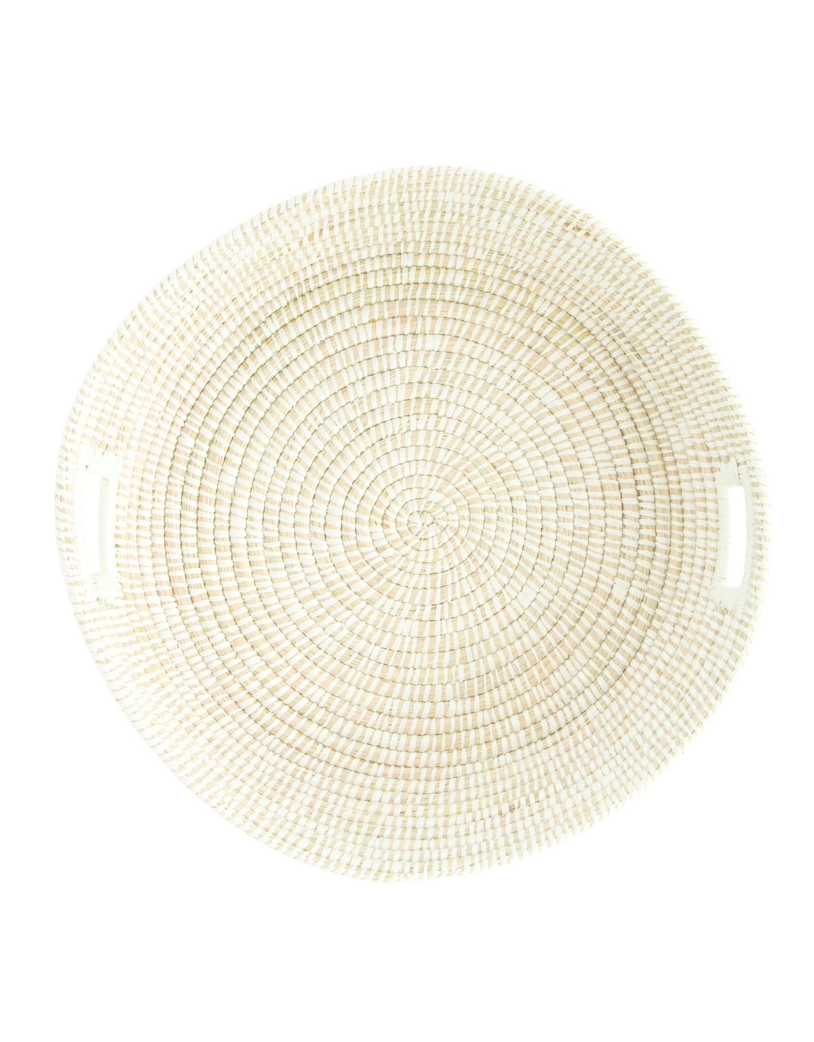 Website Hand-Woven Basket with Handles