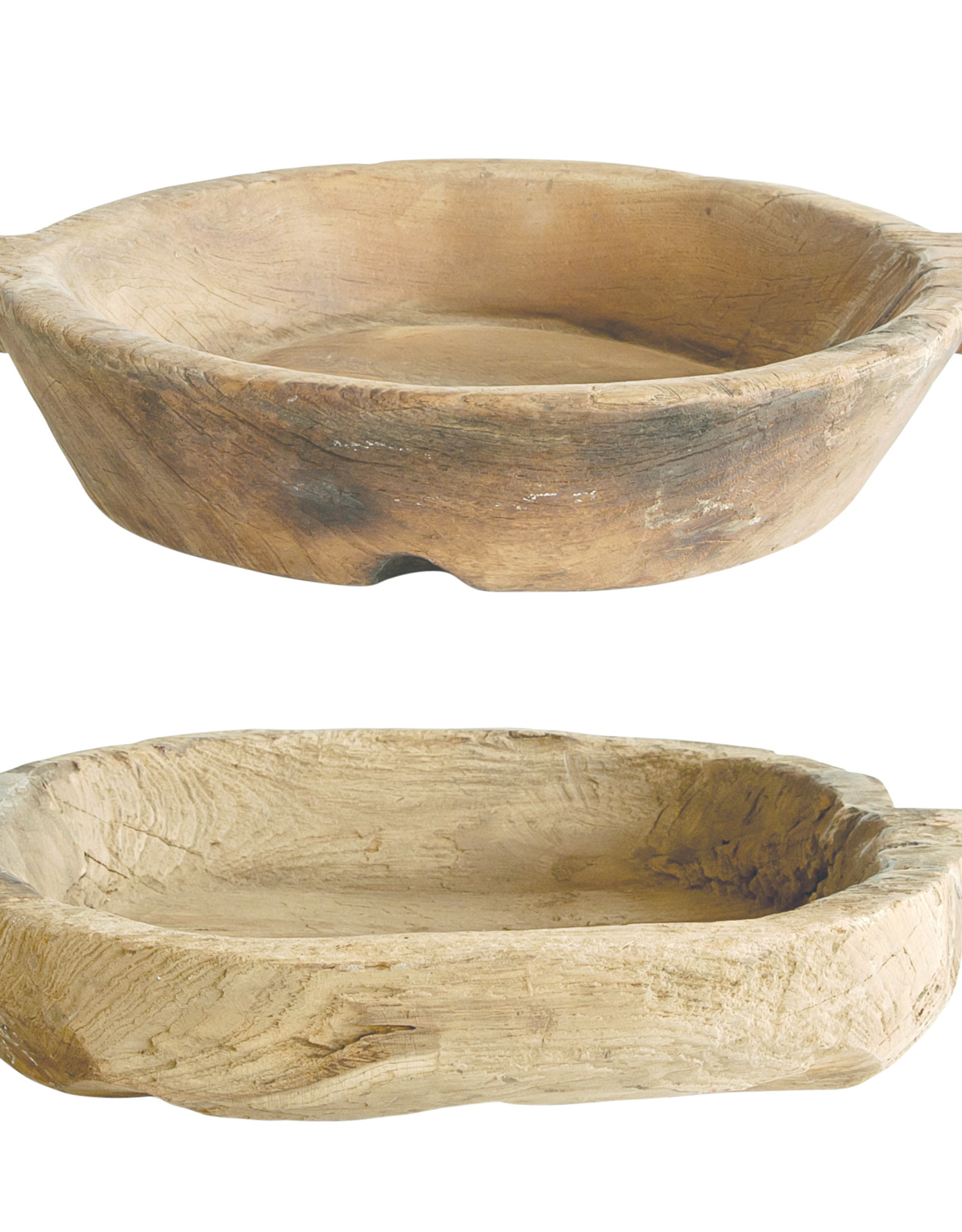Website Found Decorative Wood Bowl