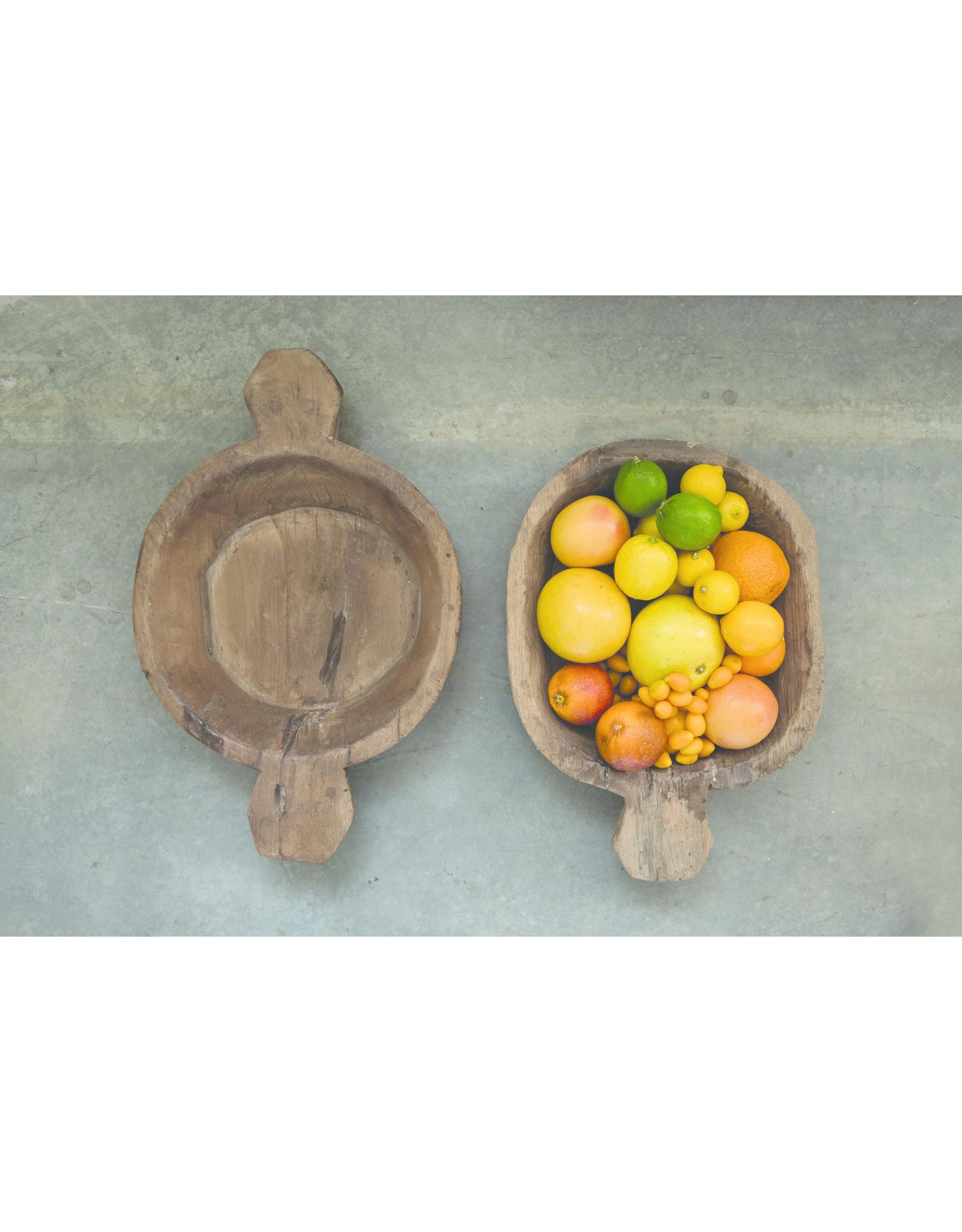 Website Found Decorative Wood Bowl