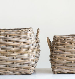 Website Rattan Baskets with Handles