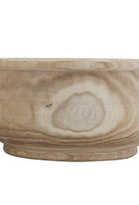 "Website * 14"" Paulownia Wood Planter"