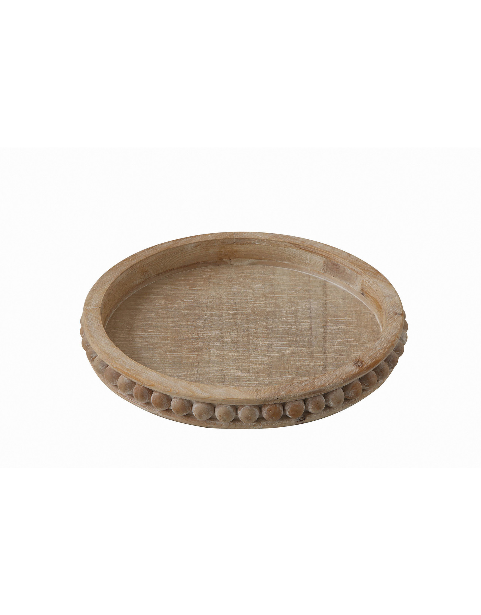 Website Round Decorative Wood Tray