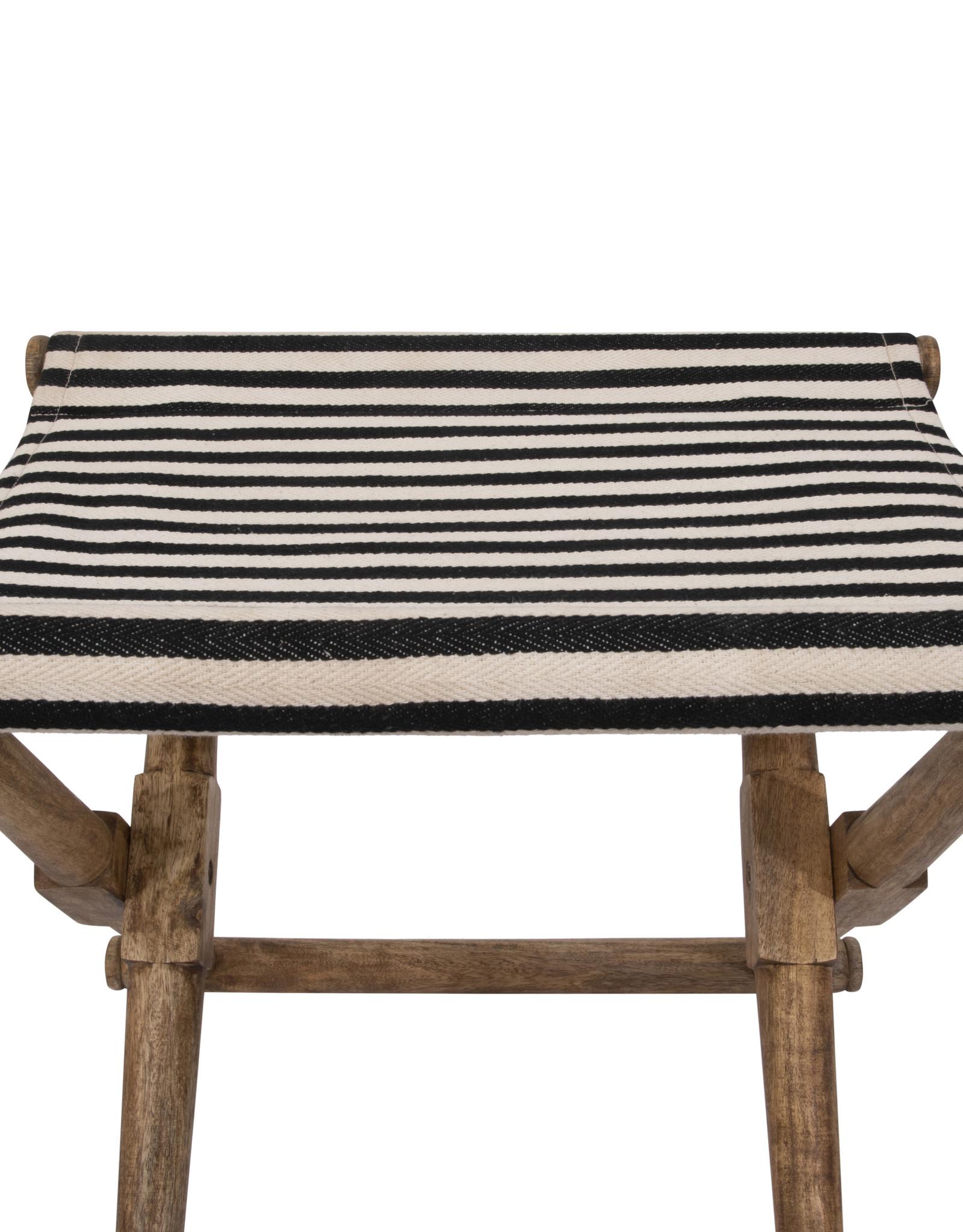 Website Mango Wood & Cotton Stool