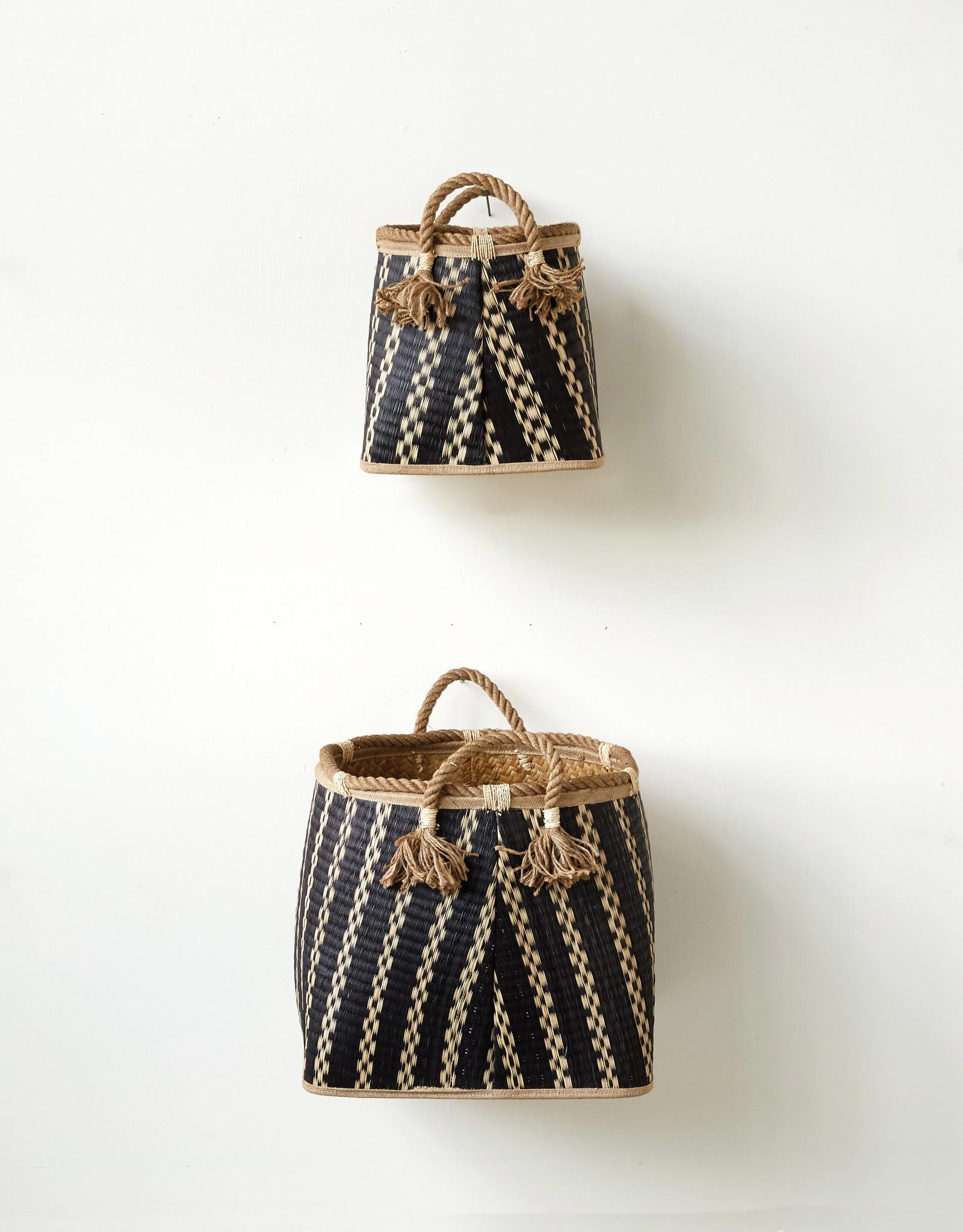 Website Wicker Baskets with Rope Handles