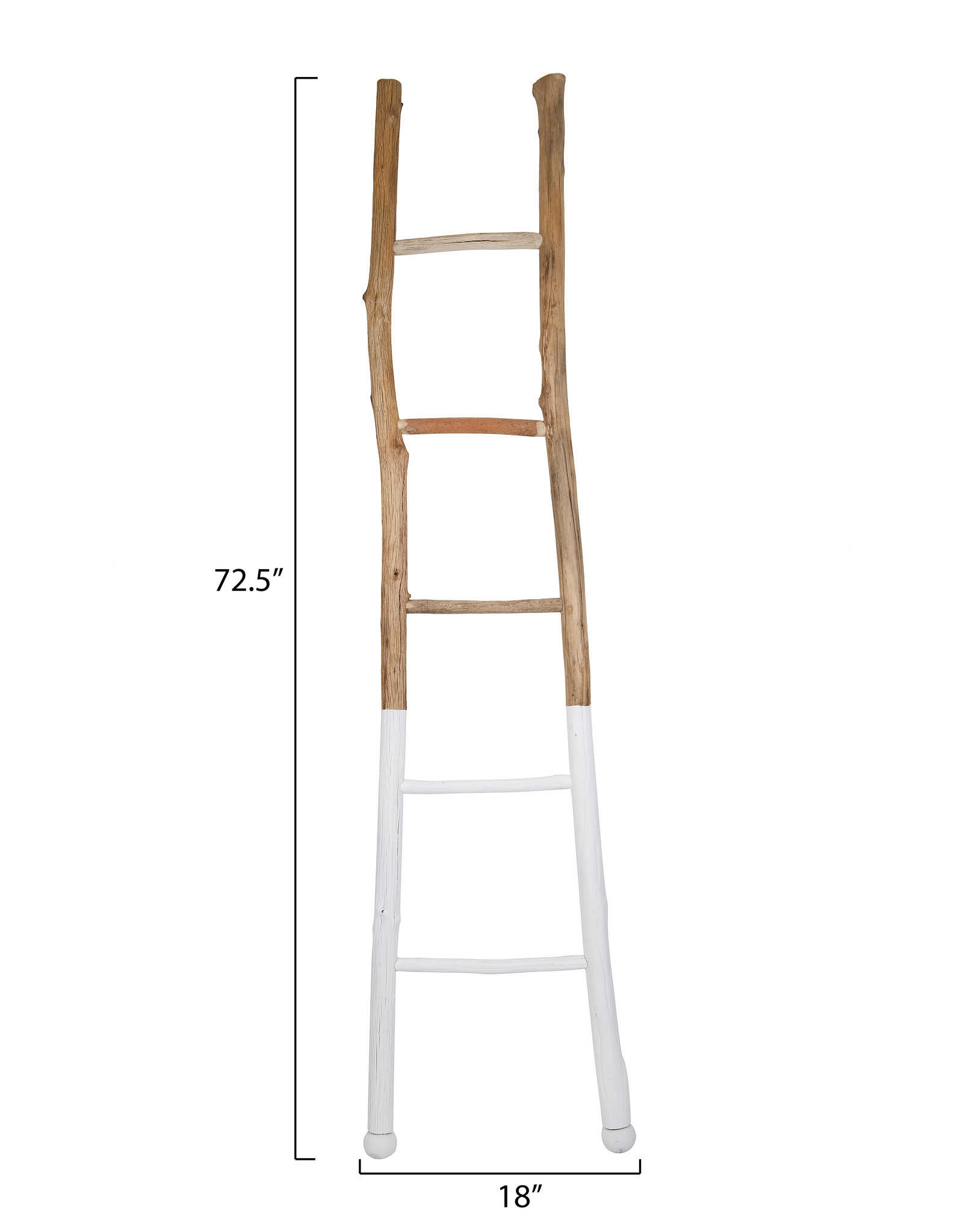 Website White Dipped Wood Ladder