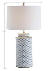 Website Indigo Ceramic Lamp