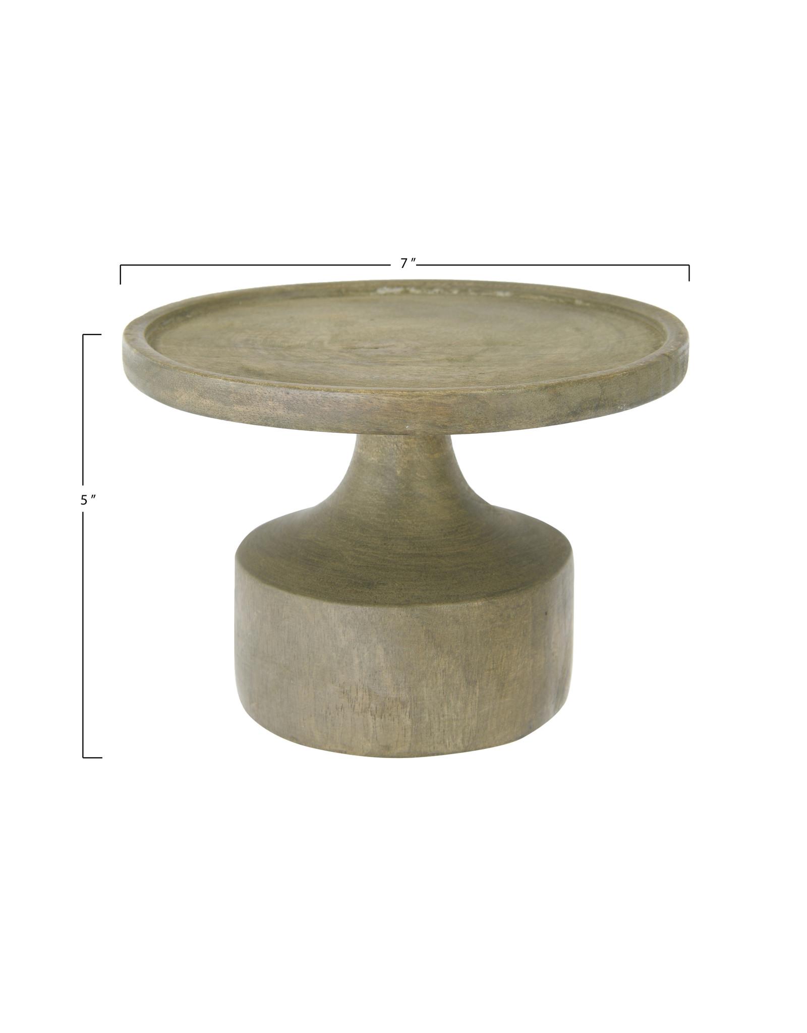 Website Mango Wood Candle Holder