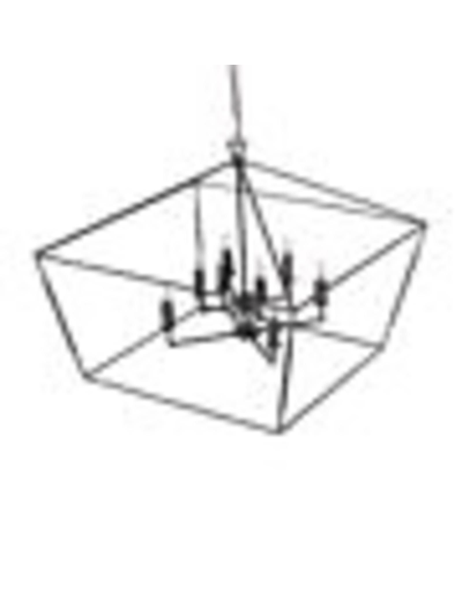 Website  Arnold Large Chandelier - Bronze