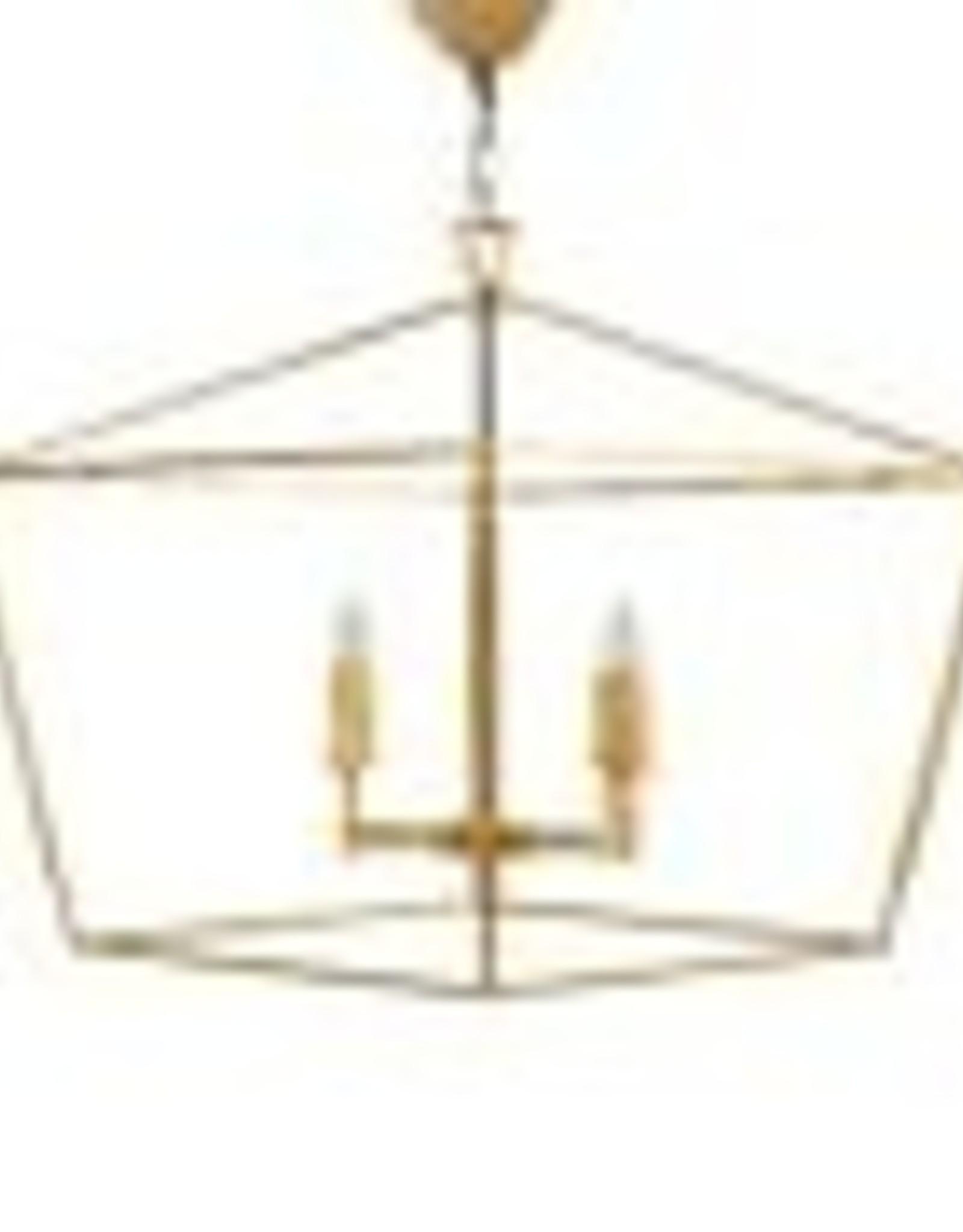 Website  Adler Large Chandelier - Gold