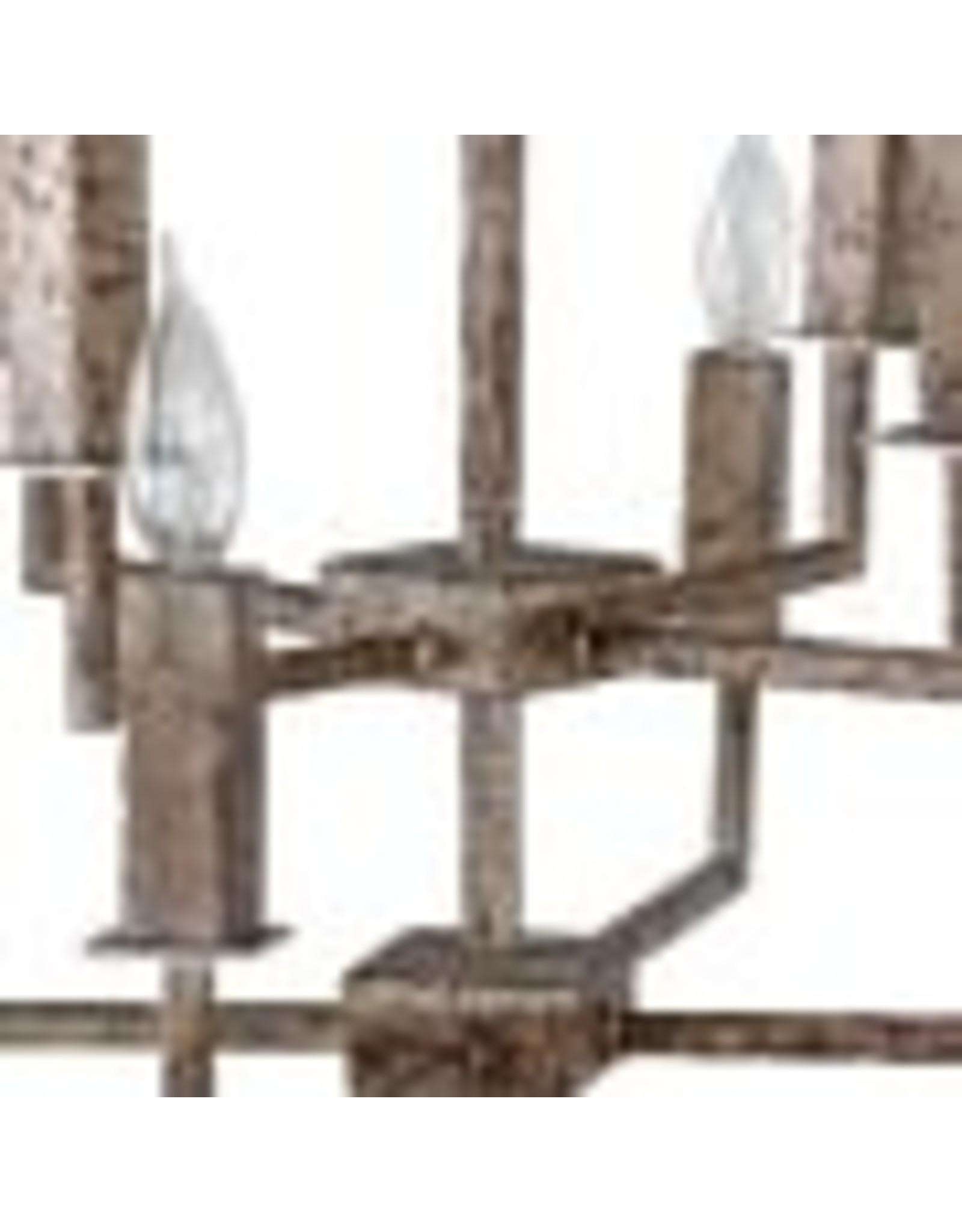 Website  Amelia Large Chandelier - Silver