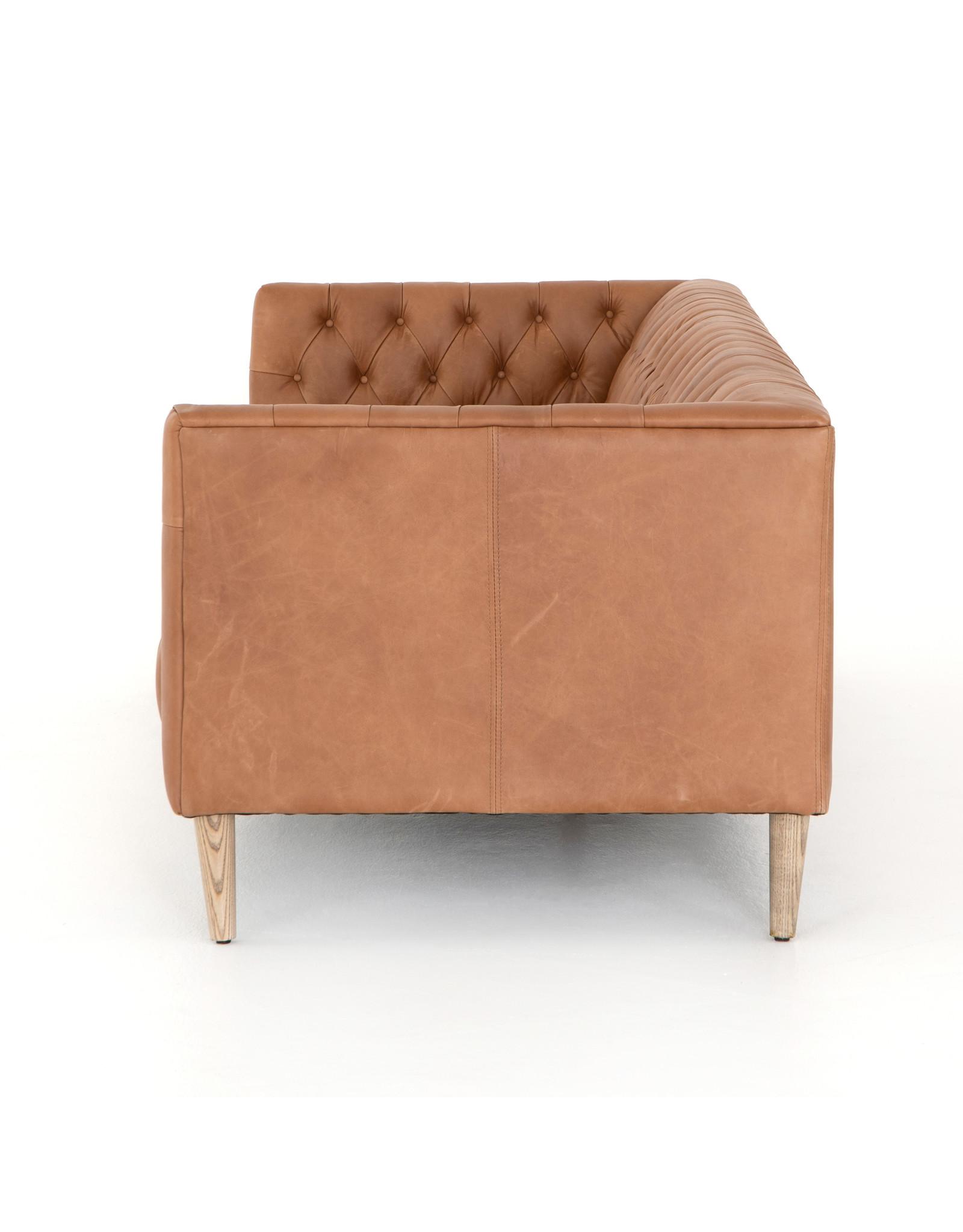 *Williams Leather Sofa